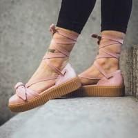 Jual Sandal Puma Bow Creepers x Rihanna Fenty Premium Original Murah 4688bfa10b