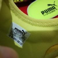 Sepatu Bola - Soccer Puma evoPOWER Vigor 1 Safety Yellow Silver - FG