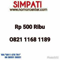 Promo Nomor Cantik(SimPaTi)Seri 168 Ilufa Hoki(0821.1168.1189)M@273