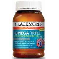 Jual Blackmores omega Triple concentrated isi 150 capsules Murah