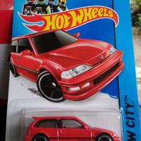 Hot Wheels Honda Civic EF - Red