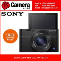SONY Cyber-shot DSC-RX100 M4 / Kamera Pocket