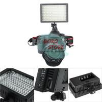 Video Kamera Lighting HD 160 LED-Lampu Studio Foto For DSLR Mirrorless