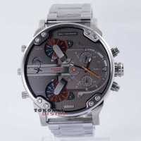 Jam Tangan DIESEL Watches BIG DADDY DZ-7315 Silver Grey