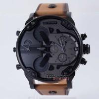 Jam Tangan DIESEL Watches MR DADDY DZ-7406 Kulit Coklat