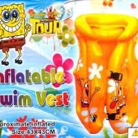 Harga swim vest spongebob 43 x 43cm jaket rompi pelampung renang | Hargalu.com