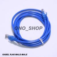 (Murah) Kabel RJ45 Male-Male 3 Meter