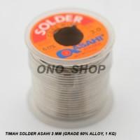 (Murah) Timah Solder Asahi 3 mm (Grade 60% Alloy, 1 KG )
