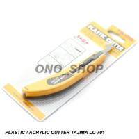(Diskon) Pisau Cutter Plastik / Acrylic Tajima LC-701