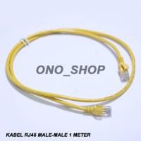 (Sale) Kabel RJ45 Male-Male 1 Meter