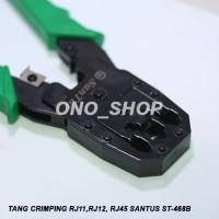 (Sale) Tang Crimping RJ 11, RJ 12, RJ 45 Santus ST-468B