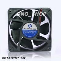 (Diskon) Fan DC 24 Volt 12 cm