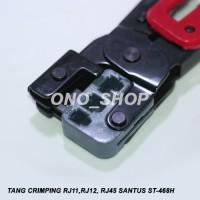 (Diskon) Tang Crimping RJ 11, RJ 12, RJ 45 Santus ST-468H