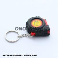 (Diskon) Meteran Vander 1 Meter 6 MM