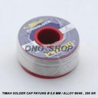 (Diskon) Timah Solder Payung ( Diameter 0,8mm ) 1/4 KG