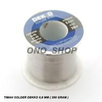 (Diskon) Timah Solder Dekko 0,6 mm 200 Gram