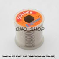 (Diskon) Timah Solder Asahi 1,2 mm (Grade 60% Alloy, 250 gram)
