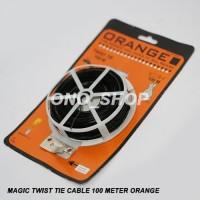 (Dijamin) Magic Twistie  100 Meter Orange