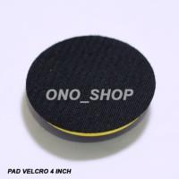 (Dijamin) Pad Polisher Velcro 4 Inch