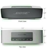 Speaker Bluetooth BOSE soundlink mini Port USB MICRO SD PORTABLE