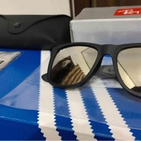 Ray-Ban Justin RB4165 lensa Gold (100% Ori made in Italy)