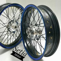 Velg Tapak Lebar 250 x 350 Ring 17 Supermotor Paket Motor - Vixion -