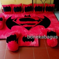 Karpet BatmanVsSuperman  Karpet Karakter Full Set