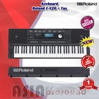 Roland E-X20 / EX20 / E X20 Arranger Keyboard include bag