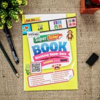 Buku anak Stiker book : binatang super seru