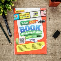 Buku anak Stiker book : Mobil super seru