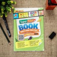 Buku anak Stiker book : buah & sayur super seru