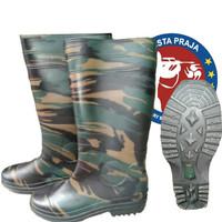 sepatu boot camo army