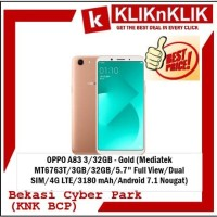 OPPO A83 3 32GB - Gold