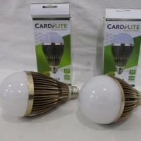 Lampu LED 15w Bulb CARDILITE Alumunium Gold Anti Panas Extra Terang
