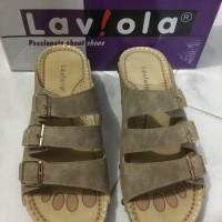 sendal wedges keren ringan branded murah merk Laviola