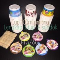 cup es krim 100 ml / cup plastik / gelas ice cream