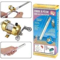 Fishing Pen / Alat Pena Pancing Set ( Reel + Joran )