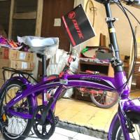 PROMO Sepeda Lipat merk EXOTIC 20
