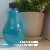 Jual Botol Bohlam 300ml / Botol Lampu 300 ml / Botol Jus, Thai Tea, Pudot Murah