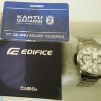 Jam Tangan Casio Edifice Chronograph WR100M/New/Garansi 2Thn/ORIGINAL