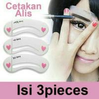 Mini Brow Class Cetakan Alis 1pak 3pcs eyebrow style pencetak alis thumbnail