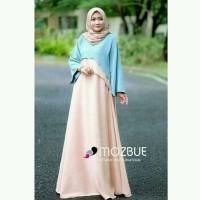 minzy maxi dress muslim/ gamis murah / grosir baju hijab/ dress muslim