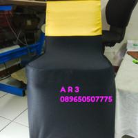 sarung /cover kursi ketat warna hitam FUTURA 405