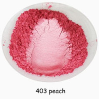 Natural Mica Powder 10g Pewarna Mika Bubuk Peach thumbnail