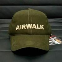 topi airwalk army original. snapback original