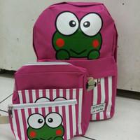 backpack keroppi 3in1