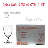 Gelas Kaki 282 ml STH-11 ST (6 pcs )/ Gelas Tamu