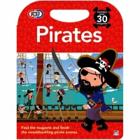 Magnetic Play Pirates Board Book Includes Over 30 Magnets