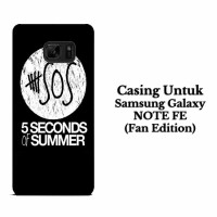 Casing SAMSUNG NOTE FE 5 Second Of Summer Log Hardcase Custom