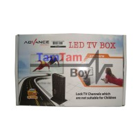 TV Tuner Converter AV To VGA untuk Monitor Advance ATV-798FM Tanpa PC
